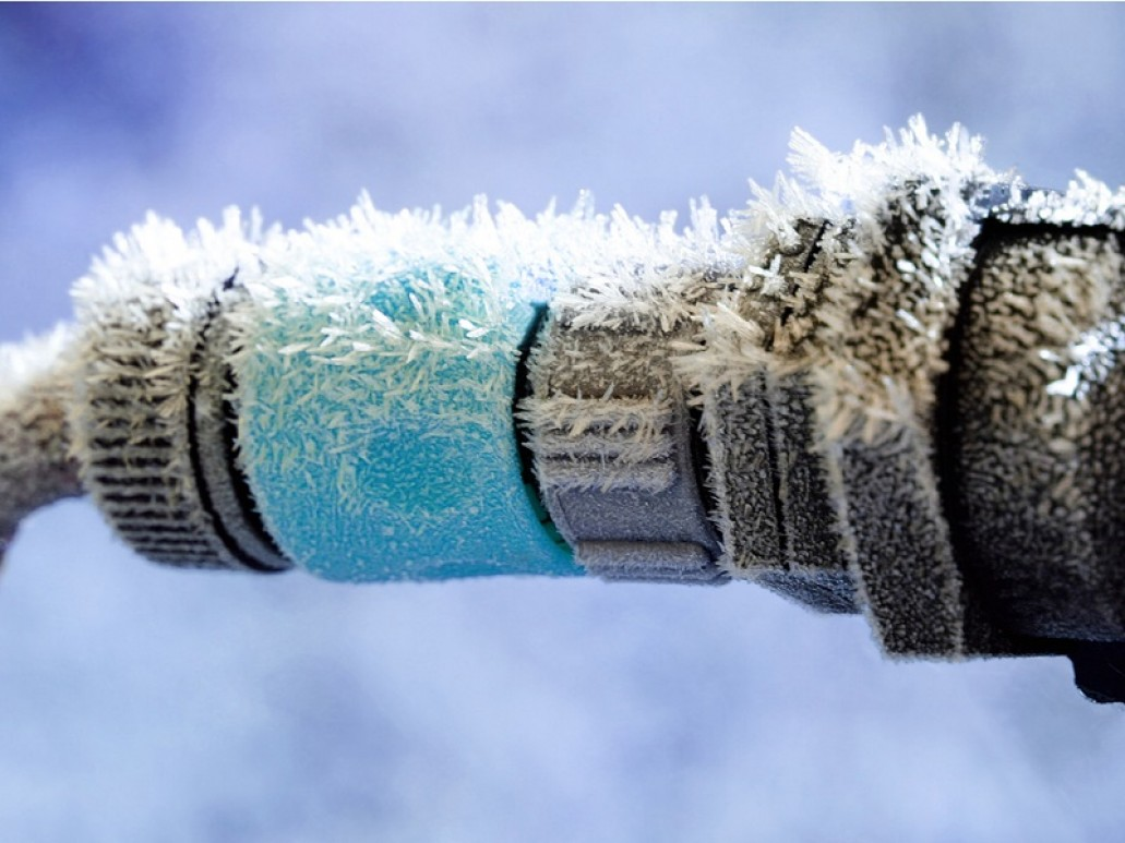 a plumbing pipe forzen over with ice learn how to prevent with winter plumbing tips from homecure plumbers